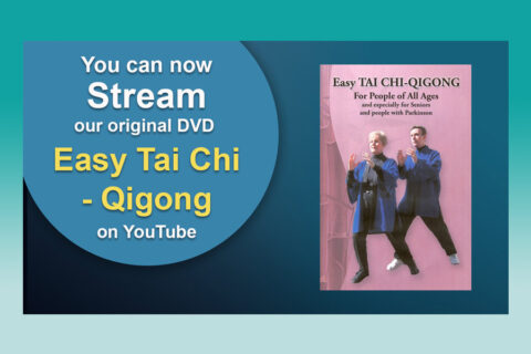 "Stream on YouTube our Original VD ""Easy Tai Chi - Qigong"""